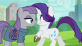 Maud suddenly appears in front of Rarity S6E3.png