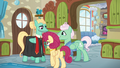 Mr. and Mrs. Shy proud of Zephyr Breeze S6E11.png