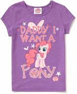 My little pony George glitter shirt