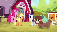 """Pinkie """"you've come to the right place"""" S9E7"""