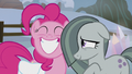 Pinkie Pie grinning; Marble bashful S5E20.png