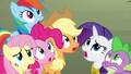 Ponies concerned about Twilight S4E02.png