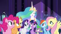 Princesa Celestia ''pra voltar para Equestria'' EG