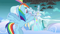 "Rainbow Dash ""comes from there"" S8E25"