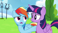 Rainbow Dash --he wasn't even trying!-- S6E24