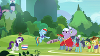 Rainbow Dash dismisses the other players S8E17