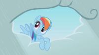 Rainbow Dash doing favours S1E3