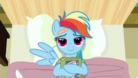 Rainbow Dash loves reading S02E16