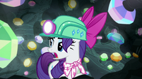 "Rarity ""refrain from all of that racket"" S8E17"
