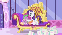 Rarity -you've come through with flying colors!- S4E23
