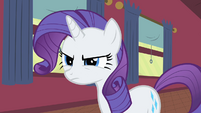 Rarity frowning S1E21