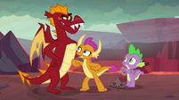 "Smolder ""a lot of fun to catch up on"" S9E9"