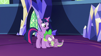 Spike -they might be getting suspicious- S7E15