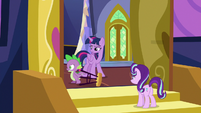 Spike Changeling walking away angrily S6E25