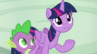 Twilight --so are the rest of the Wonderbolts-- S6E7