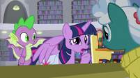 "Twilight Sparkle ""sensitive matter"" S9E5"
