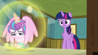 Twilight Sparkle apologizes to Flurry Heart S7E3