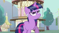 Twilight mad at Rainbow Dash S03E13