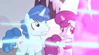 Village ponies protected by magic shield S5E2