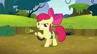 Apple Bloom beckoning the twittermites S5E4