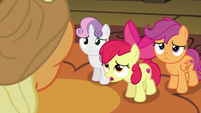 "Apple Bloom sad ""we know"" S9E22"