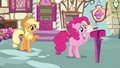 Applejack 'Rainbow Dash hasn't even been gone twenty-four hours yet' S3E07.png