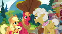 Applejack -we were hopin' you could tell us- S7E13