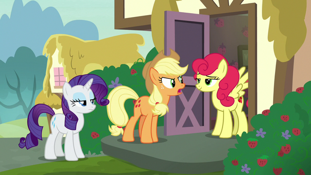 File:Applejack angrily confronting Strawberry Sunrise S7E9.png
