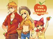 FANMADE The Apple Siblings