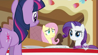 Fluttershy embarrassed S2E23