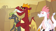Garble with the other teen dragons S2E21