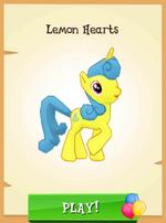 Lemon Hearts MLP Gameloft