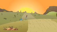 Little Strongheart in the distance S1E21