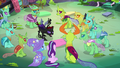 Pharynx shouting at his fellow changelings S7E17.png