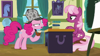 "Pinkie Pie ""where do these pies come from?"" S7E23"