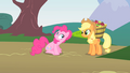 Pinkie Pie greeting Applejack S1E15.png