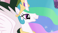 Princess Celestia proud of filly Twilight S7E1