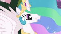 Princess Celestia proud of filly Twilight S7E1