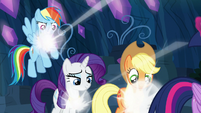 RD, Rarity, and AJ are given their Elements S9E1