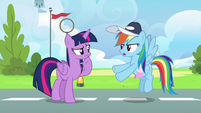 Rainbow Dash --that could be trouble too-- S6E24