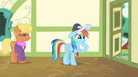 Rainbow Dash calming herself down S4E05