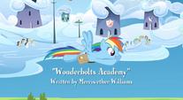 Rainbow Dash looks at the Academy S3EO7