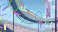 Rainbow Dash zooming through rings S4E24.png