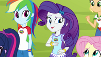 Rarity thinking of an activity EG4