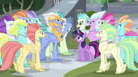 "Sky Beak ""to the refreshment tent"" S8E6"