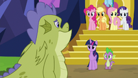 Sludge saying goodbye to Mane Six S8E24