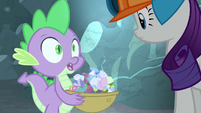 "Spike ""Basket holder?"" S6E5"