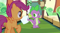 "Spike ""we're not really going"" S03E11"