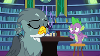 "Spike pleading ""that's not true!"" S9E19"