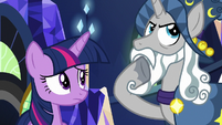 Star Swirl thinking about Twilight's theory S7E26